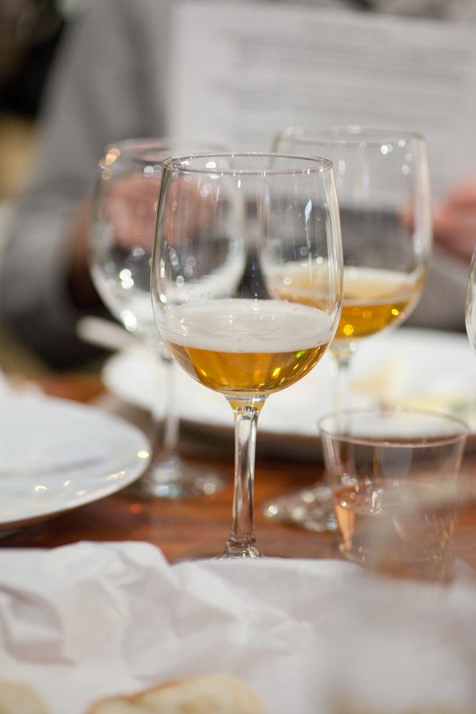 Cider pairing dinner @Trenchermen